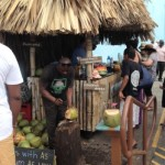 Roatan Coconut Stand