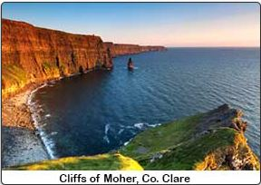 Irish British Tour Cliffs of Moher